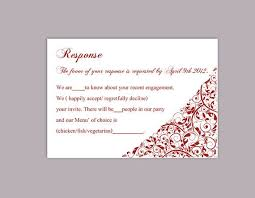 response cards template diy wedding rsvp template editable download printable rsvp cards