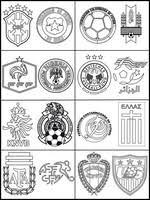 Kleurplaten Wk Voetbal 2014 Morning Kids