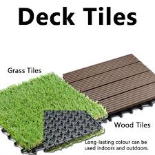 diy decking wood decking grass composite timber interlocking decking tiles no fixings required