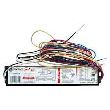 ge 120 volt electronic ballast for 4 ft 2 lamp t12 fixture 120 to 277 volt electronic program start ballast for 2 or 1 lamp