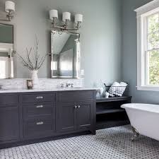 Outstanding Bathroom Interior Grey Bathroom Ideas Charcoal Gray Interior  For Grey And Blue Bathroom Ideas Attractive