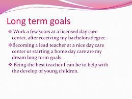 Short Term Professional Goals Professional Long Term Goals Serpto Carpentersdaughter Co
