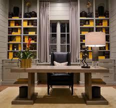 home office idea. Gray Home Office Idea