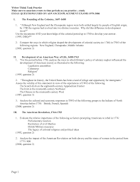 essay questions used on advanced placement exams