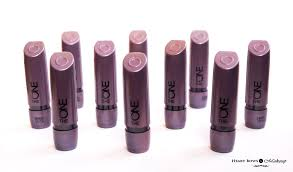 oriflame the one matte lipstick review swatches in india