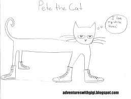 Small Picture Pete The Cat Coloring Pages fablesfromthefriendscom