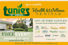 Samples Of Tickets For Events Tunies Health Wellness Seminar Coral Springs Center For