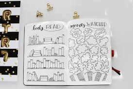 books read s watched bullet journal