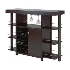 white home bar furniture. 12532 Bar With Smoked Glass Top White Home Furniture