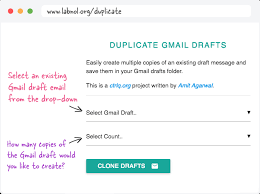 Creat E Mail How To Create Multiple Copies Of Email Drafts In Gmail