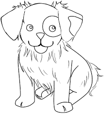 Cute Dog Coloring Pages To Print At Getdrawingscom Free For