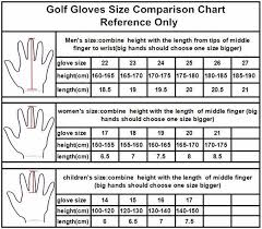 Golf Glove Hand Size Chart Fungreen Solf Fibre Breathable Magic Kids Golf Gloves Factory Wholesale Children Junior Sports Gloves With Oem Logo View Magic Gloves For Kids