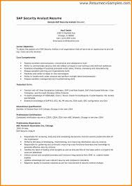 Security Professional Resume Adorable Information Security Analyst Resume New IT Security Sample Security