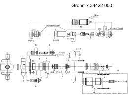 grohe grohmix 1 2 mixing valve 34422 000 shower spares