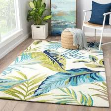 blue and green area rugs havenside home folly montego blue green indoor outdoor fl blue
