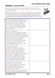 ks lord of the flies by william golding teachit english  2 preview