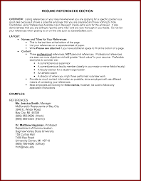 References On A Resume How To Include In Write For 17 Interesting
