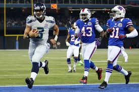 Seahawks 31 Bills 17 At Halftime The Russell Wilson Show
