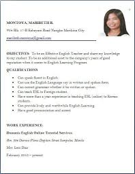 Sample Resume For Online English Teacher Best Of Sample Resume Format For Lecturer Job Donghaigreen Com Page 244 Of 244
