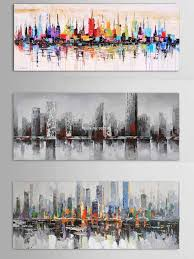 New York City Picture Canvas 100 handmade American Style Modern