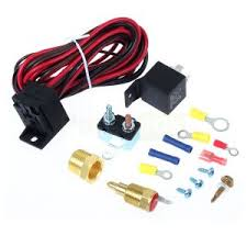 car electric fan wire harness kit relay circuit breaker car electric fan wire harness kit relay circuit breaker thermostat