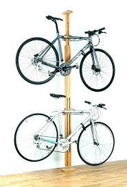 garage bike rack ideas hanging bikes in storage diy gar