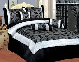 black and white comforter sets black and white queen size bedding black and grey