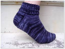 Knitted Sock Patterns Classy Free Knitting Pattern Easy Peasy Socks Shiny Happy World