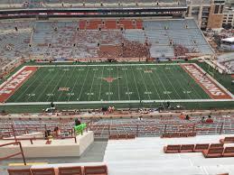 Ut Texas Football Stadium Seat Chart Dkr Texas Memorial Stadium Section 104 Rateyourseats Com