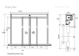 standard sliding doors sizes standard size of sliding glass door