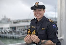 Navy Seamanship Taupo Woman Achieves First For Naval Gunnery New Zealand