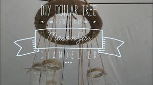 diy dollar tree rustic country mason jar chandelier 2017