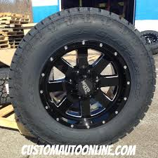 moto 962. 18x9 moto metal 962 black and milled wheel - lt285/65r18 nitto terra grappler g2