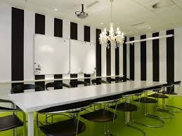 home office green themes decorating. Green Themes Decorating Design For Work Space Office Joshta Home Charming White Laminated Wooden Meeting Table S