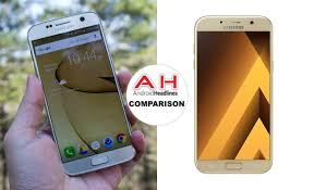 Phone Comparisons Samsung Galaxy S7 Vs Samsung Galaxy A7 2017