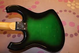 late 60s kimberly 4 pickup greenburst guitar and kawai greenburst the kimberly the kawai