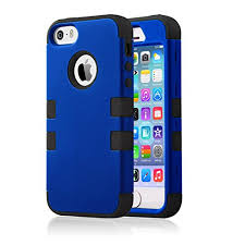Iphone 5s Case Blue : Iphone s case se bentoben piece hard plastic shell