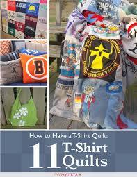 How to Make a T-Shirt Quilt: 11 T-Shirt Quilts | FaveQuilts.com & How to Make a T-Shirt Quilt: 11 T-Shirt Quilts Adamdwight.com