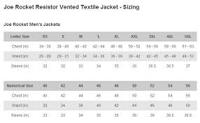 Jacket Measurements Chart How To Measure Yourself For The Correct Motorcycle Jacket
