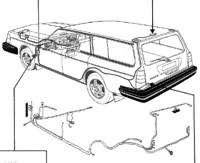 volvo documents Volvo 240 Radio Wiring at 1987 Volvo 240 Cruise Control Wiring Diagram