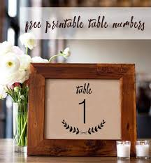 wooden table number holders fresh 107 sets of free printable wedding table numbers of wooden table