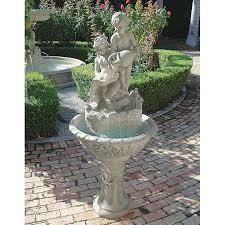 design toscano portare acqua italian style sculptural outdoor fountain ky92229