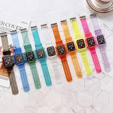 Dây Đeo Trong Suốt Chống Nước Cho Đồng Hồ Thông Minh Apple Watch Iwatch 1 /  2 / 3 / 4 / 5 / 6 / Se giá cạnh tranh
