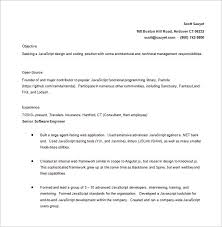 Attractive 1 Year Experience Java Resume Format Vignette Resume