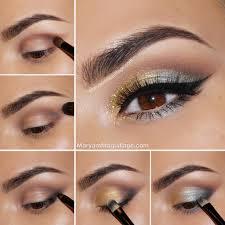 glitter summer makeup tutorial