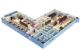 3d Floor Plan Software Free with modern office design for 3d floor ...