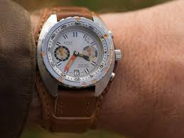 relates to go ahead wear your watch on a thick leather cuff
