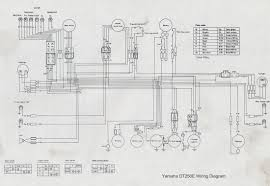 manuals dave s bikes yamaha dt250e wiring diagram