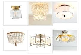 flush mount lighting 30 affordable options the harper house flush mount chandelier save flush mount crystal