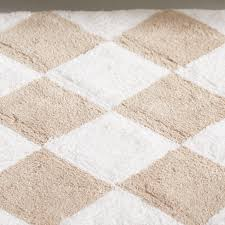 Tan Bathroom Rugs Safavieh Plush Master Geometric Bath Rug Reviews Wayfair